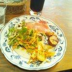 インフィールド - ランチ 前菜盛り