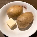 欧風カレー ボンディ - サービスのジャガイモ
