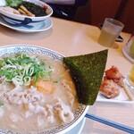 丸源ラーメン - 肉そば・餃子・から揚げランチ