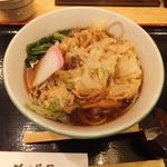 そば茶屋 小諸 新横浜店 - かき揚げそば¥350