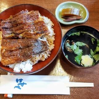 はせべ - 料理写真:うなぎ丼(松)…3000円(税込)、肝吸い…200円(税込)