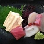 いばらき食彩香寿亭 - 大子産生湯葉と本日入荷の鮮魚