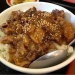 明華 - ミニ牛すじ丼