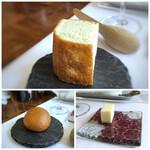 デフィ・ジョルジュマルソー - ◆パン(フォッカチャ・ブリオッシュ)・・どちらも美味しいパン、追加可能。