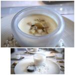 デフィ・ジョルジュマルソー - *桃がたっぷり入り、スープも滑らかで美味しい。コレを頂けたのは嬉しい。