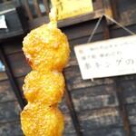 山田五平餅店 - 100円の五平餅