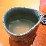 貴匠庵 - 蕎麦湯