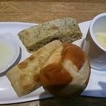 15467344 - バジルのパン最高~♪