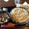 よしふじ - 料理写真:肉汁うどん+ちくわ天