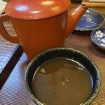 喜八 - 蕎麦湯