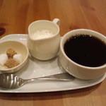 カフェフェルマータ - ランチに+150円で珈琲を♪