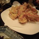 15468804 - 大正海老と季節やさいの天ぷら