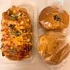 おのころ屋 - 料理写真:ピザパン、小倉あんぱん、くるみパン