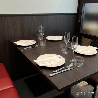 個室利用でご安心してお食事をお楽しみ頂けます