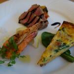 Baruerisutorantetaburie - 前菜3種