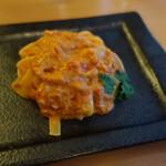 Baruerisutorantetaburie - ズワイ蟹のトマトクリームソース