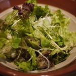 魚吉 - 農家直送葉野菜すり鉢サラダ