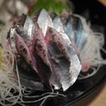 魚吉 - サンマの刺身