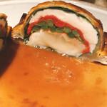 154693415 - オマール海老と鶏ムースのパイ包焼き