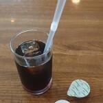 洋食 大かわ - アイスコーヒー