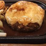 カフェレストラン 瑠奈 - 料理写真:チーズハンバーグ300㌘