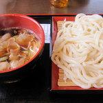 温井製麺 - 肉汁大盛り