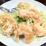 15470511 - 海老マヨ (少し食べてます…)