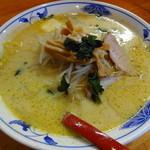 札幌館 - 味噌カレー牛乳ラーメン