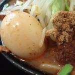 15470948 - 麻辣麺 全部のせ(味玉・魚粉アップ)