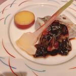 別邸 竹の庵 -  えぼ鯛の塩焼き~赤味噌ソース~