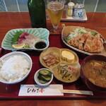 ひわさ屋 - 海山ごはん 1600円(税込) (2021.6)