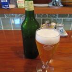 ひわさ屋 - 瓶ビール 590円(税込) (2021.6)