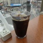 ツバキCafe - アイスコーヒー:250円