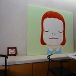 グラプレ - 奈良美智さんの作品のレプリカが飾られています