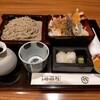本陣房 - 料理写真:大海老天丼とそば1300円