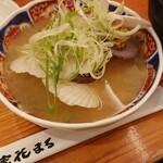 四季 花まる - 稚貝の味噌汁(¥350ほど)。 保立も汁も美味しい!