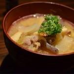 豚公司 堀江 - 豚汁