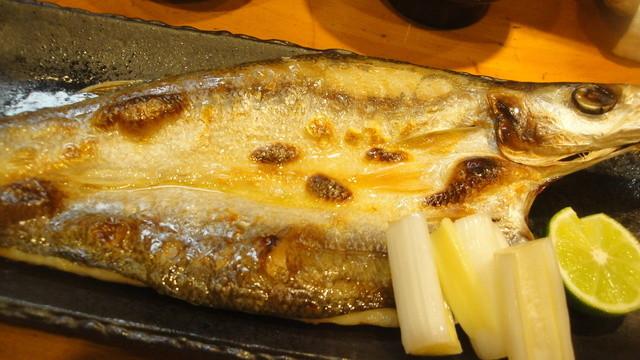 みかく - 焼魚定食(1050円)のかます