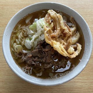 美也樹 - 料理写真:肉天うどん500円