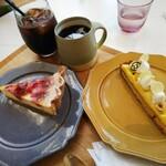 TOOTHTOOTH FISH IN THE FOREST - シャペロン+瀬戸内レモンのタルト+コーヒー