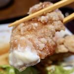酒菜 一兆 - 若鶏の唐揚げ定食(850円)