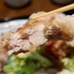 酒菜 一兆 - 若鶏の唐揚げ定食(850円)若鶏の唐揚げ定食(850円)