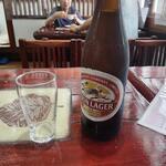 居酒屋 ヤマヤ - 瓶ビール中瓶キリンラガー550