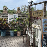 浜辺の茶屋 - 入口