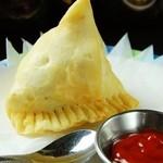 インド・ネパール料理ナマステ ガネーシャ マハル - サモサ