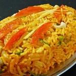 インド・ネパール料理ナマステ ガネーシャ マハル - チキンビリヤニ 950円