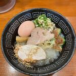 六九麺 - 冷製六九鶏ガラジュレ醤油らぁ麺¥1.100