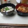 まんぷく食堂 - 料理写真:新福定食(ぷちからあげ丼とイセうどんセット)