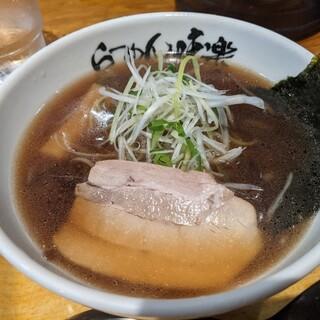 利尻らーめん味楽 - 料理写真:焼き醤油ラーメン ミニ