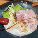 鯛塩そば 縁 - 鯛塩濃厚そば ¥850
